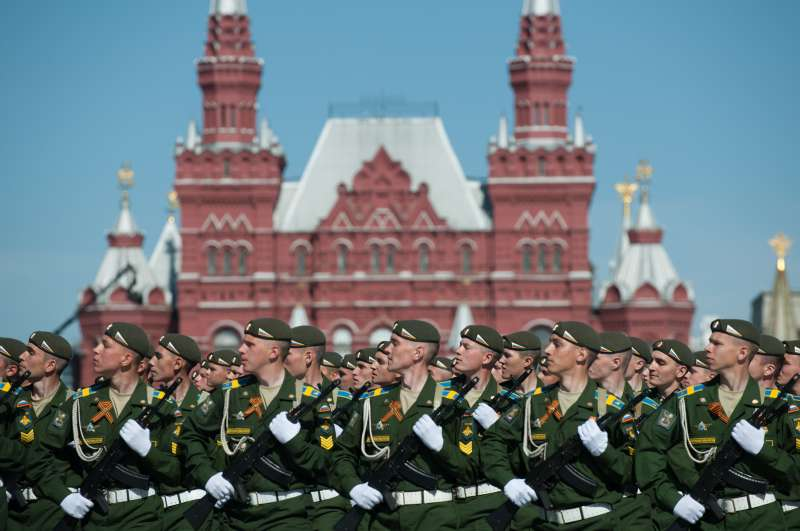 RUSSIA-MOSCOW-VICTORY DAY PARADE