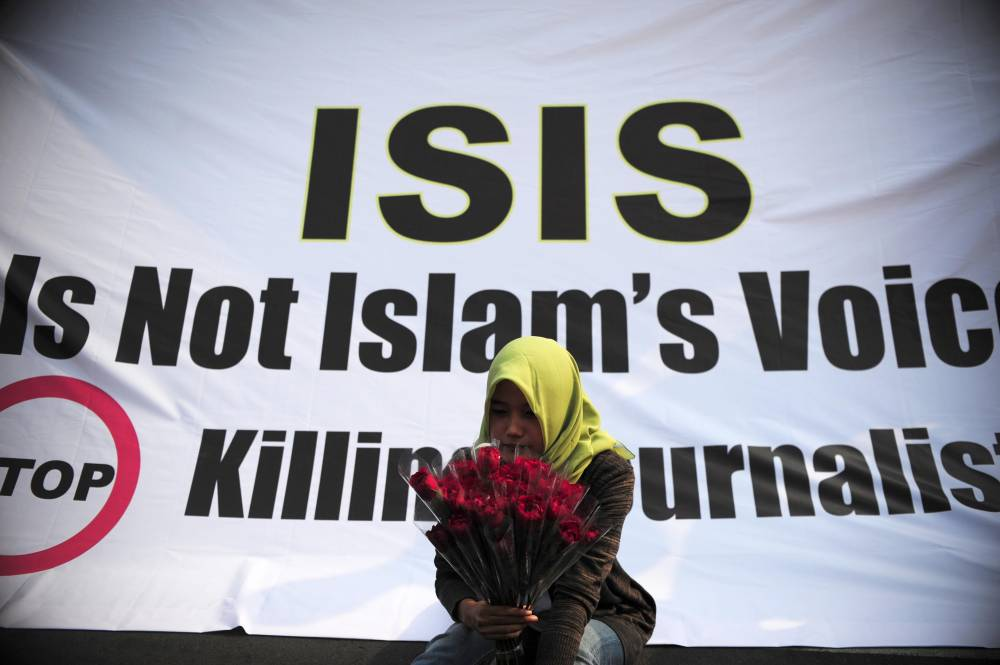 isis protests