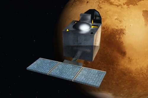 india mars spacecraft