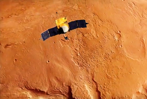 Maven spacecraft to mars