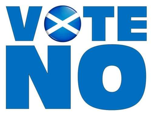 no vote logo  scotland