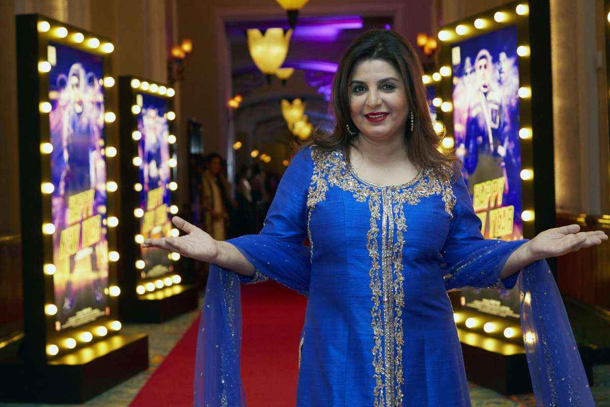 Filmmaker Farah Khan
