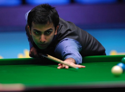 Indian snooker player Pankaj Advani