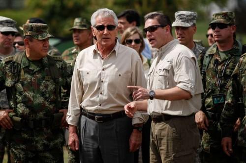 COLOMBIA-MELGAR-U.S. DEFENSE SECRETARY-VISIT