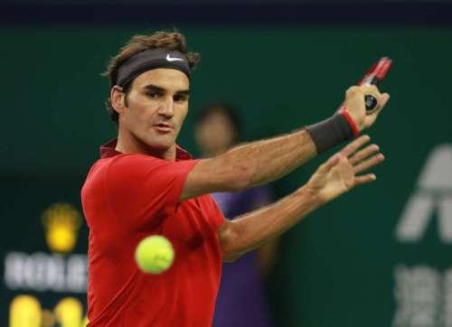 Switzerland's Roger Federer