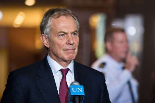 UN-NEW YORK-COUNTER-TERRORISM-TONY BLAIR