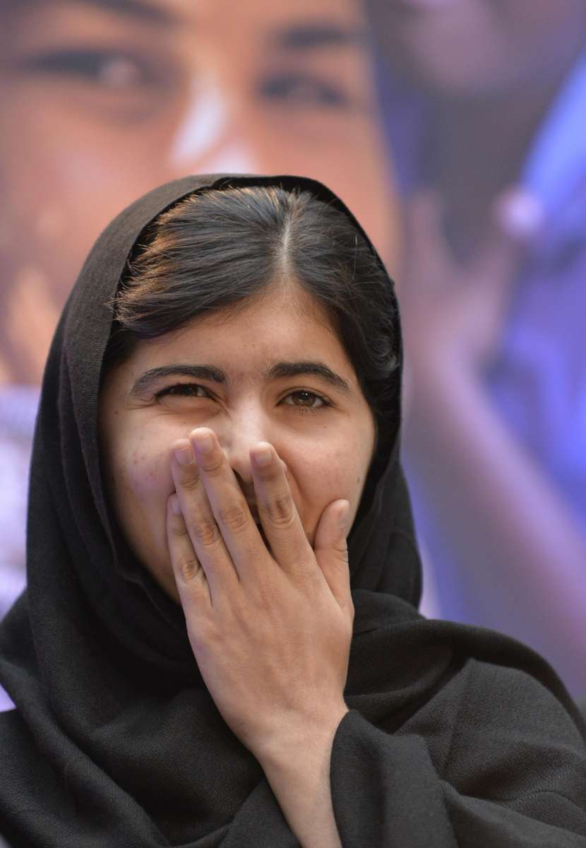 Malala Yousafzai, the teenaged Pakistani girl education activist (File)
