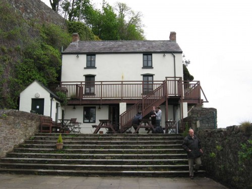 Dylan Thomas house at Swansea, Wales