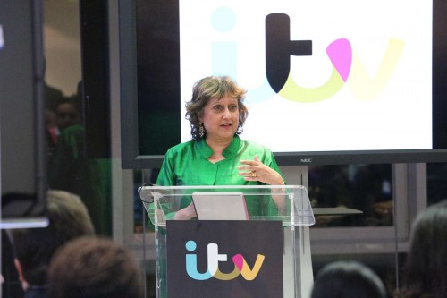Broadcaster and author Yasmin Alibhai-Brown during the event to announce the short-list
