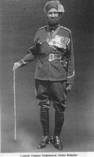 Capt Ghulam Mohammed