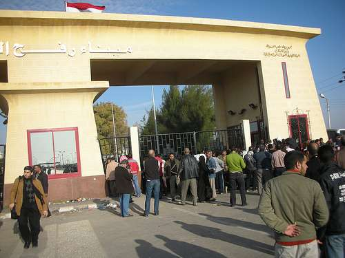 Rafah crossing in Gaza