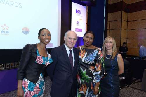 Dr Vince Cable MP, Secretary of State for Business, Innovation and Skills. at the Black British Business Awards 2014