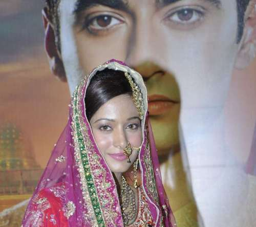 Actress Amrita Rao's younger sister Preetika Rao during the press conference of Colors`s new show `Beintehaa`in Mumbai on December 26, 2013. (Photo: IANS)