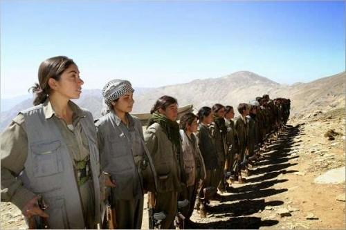 Kurd fighters