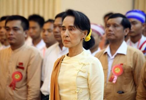 Myanmar leader Aung San Suu Kyi