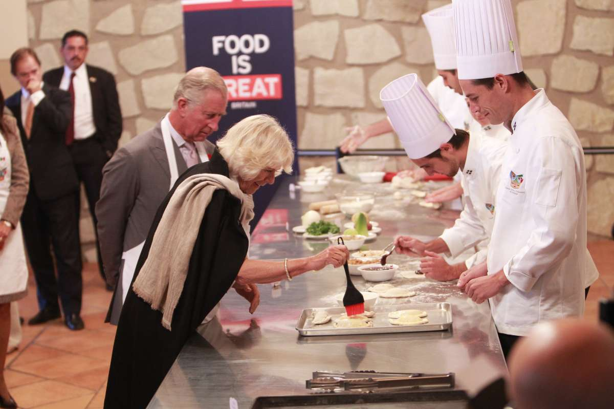 British Prince Charles and his wife Camila, Duchess of Cornwall, visit the Pasty Museum, in the city of Pachuca, state of Hidalgo, Mexico (File)