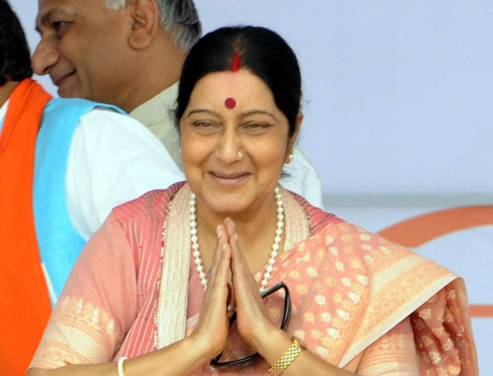 Indian External Affairs Minister Sushma Swaraj (File)