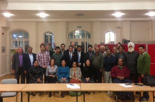 Alok Sharma, the Member of Parliament for Reading West, along with his constituents welcome Indian Deputy High Commissioner to the UK, Dr Virander Paul