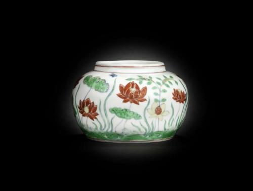 Lotus Pond Jar