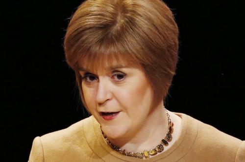 Nicola Sturgeon Photo Credit: Dailyrecord