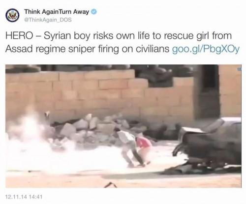 syrian boy rescue sister