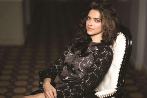 Actor Deepika Padukone during the photo shoots in Mumbai on Aug 27, 2014. (Photo: IANS)