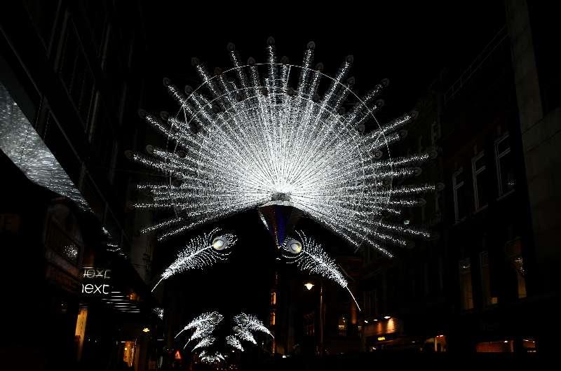 BRITAIN-LONDON-CHRISTMAS ILLUMINATIONS