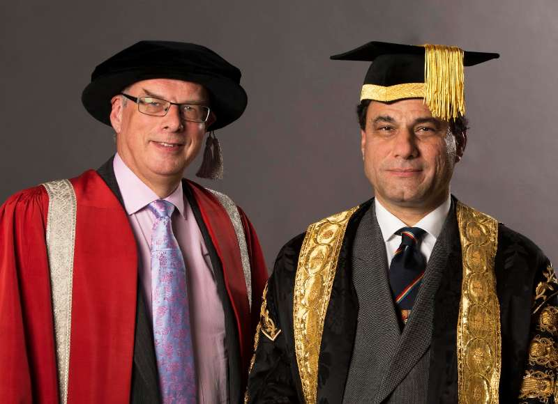 Lord Karan Billimoria during an academic function in Birmingham (File)