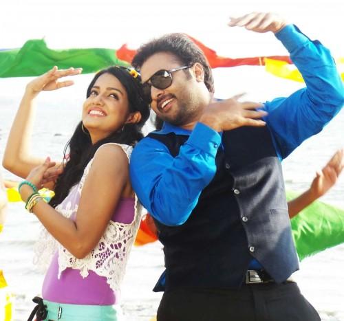Hyderabad: Stills from upcoming Telegu film `rowdy fellow`. (Photo: IANS)