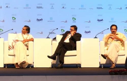 Madhusoodanan Nair, Prabha Varma, Alankode Leelakrishnan at SIBF