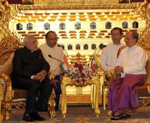 Myanmar to cement ties with India