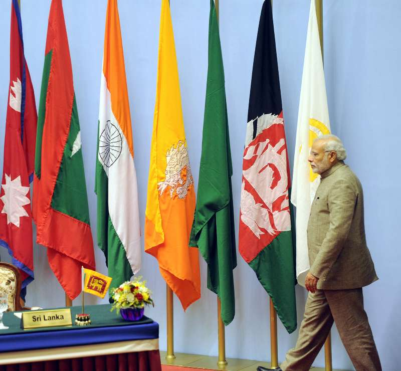 Prime Minister, Shri Narendra Modi at the concluding session of the 18th SAARC Summit, in Kathmandu (File)