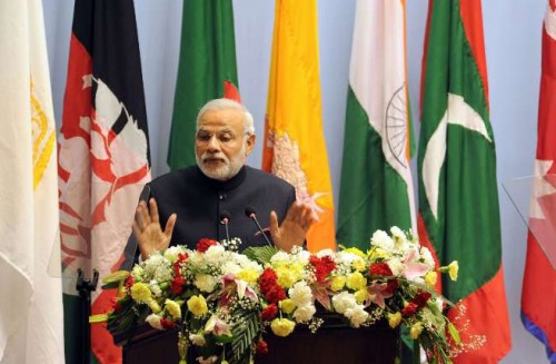 The Prime Minister, Shri Narendra Modi addressing the inaugural session of the 18th SAARC Summit, in Kathmandu, Nepal, on November 26, 2014.