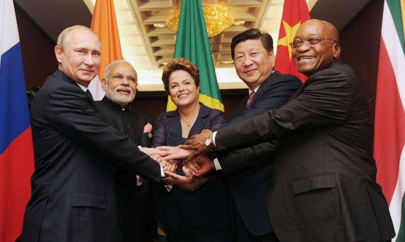 BRICS leaders meeting ahead of G-20 Summit, in Brisbane, Australia on November 15, 2014.