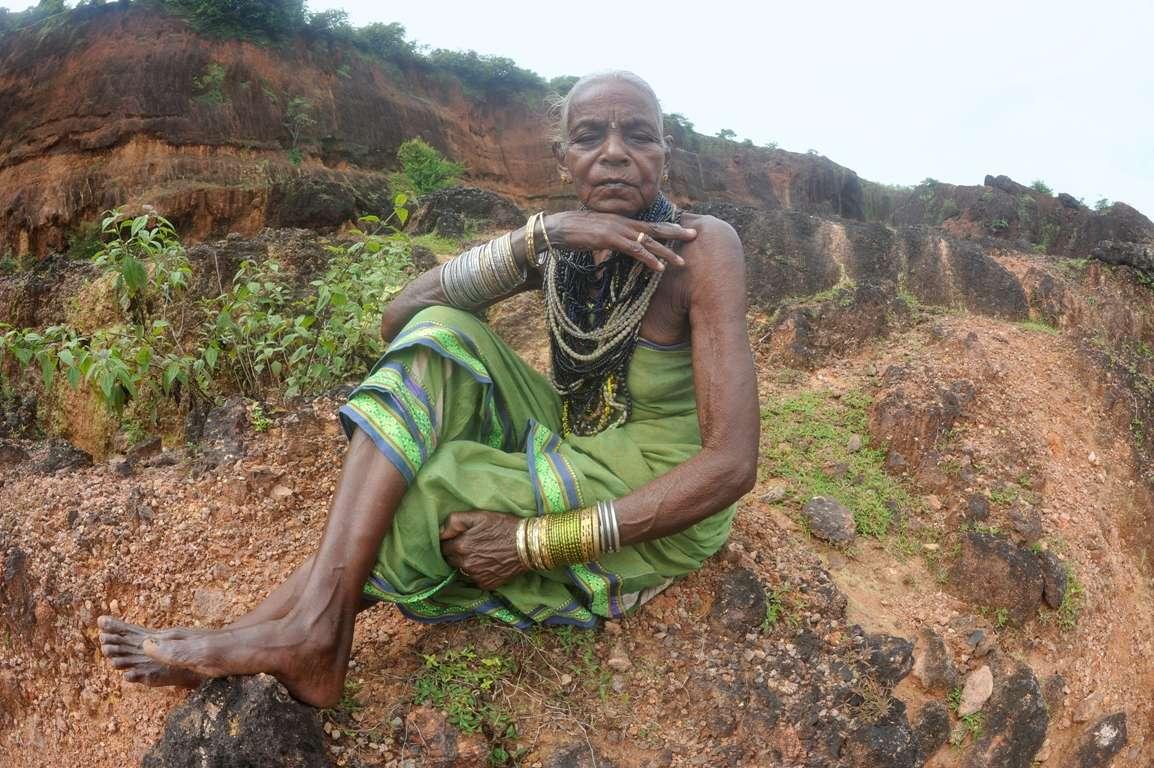 Halakki tribal women in traditional attire and heavy jewellery