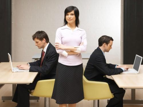 women boss