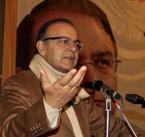 Union Minister for Finance, Corporate Affairs, and Information and Broadcasting Arun Jaitley