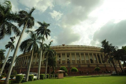 The Indian Parliament, New Delhi.