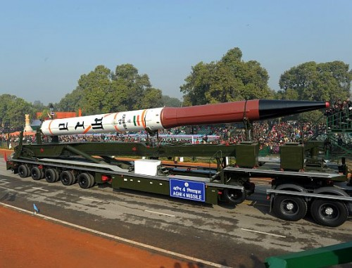 N-capable Agni-IV missile