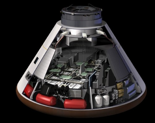 NASA's Orion capsule