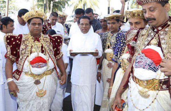 Lanka President Maithripala Sirisena