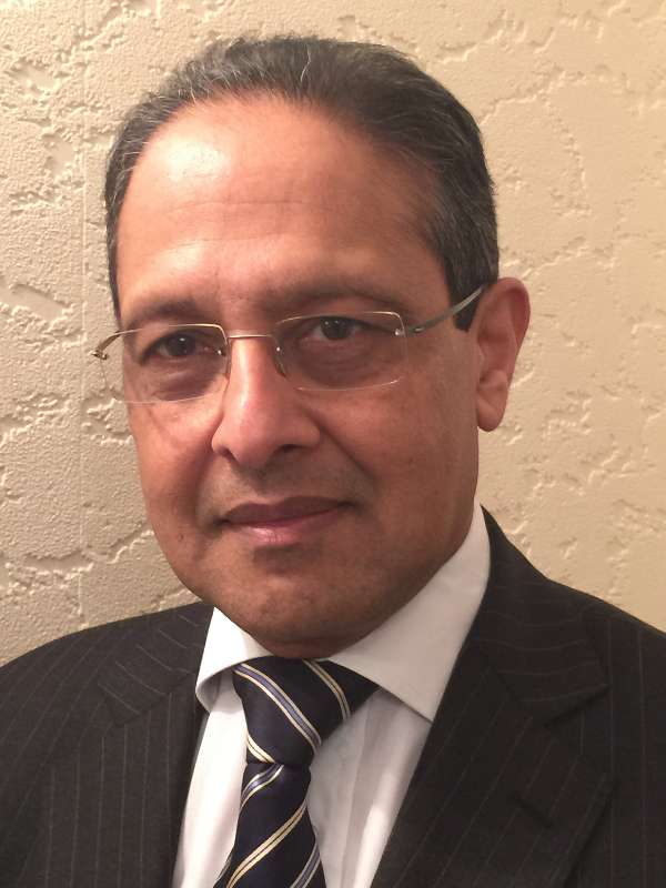 Professor Muntzer Mughal, Consultant Surgeon & Head of Upper GI Services, University College London Hospitals