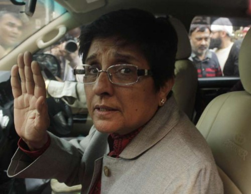 BJP's chief ministerial candidate for Delhi Kiran Bedi