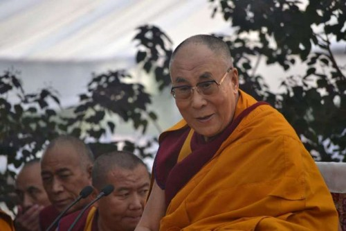 Dalai Lama the spiritual head of Tibetan Buddhists