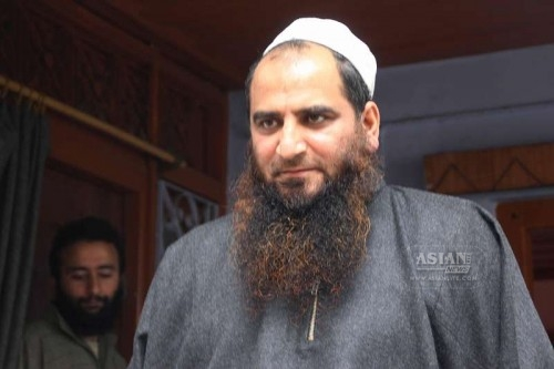 Separatist leader Masrat Alam after being released from prison by the Jammu and Kashmir government . Alam was arrested during the 2010 unrest in the Kashmir Valley in Srinagar, on March 8, 2015. He was accused of inciting youth during the unrest in which at least 112 people were killed in bloody clashes between unruly mobs and security forces.