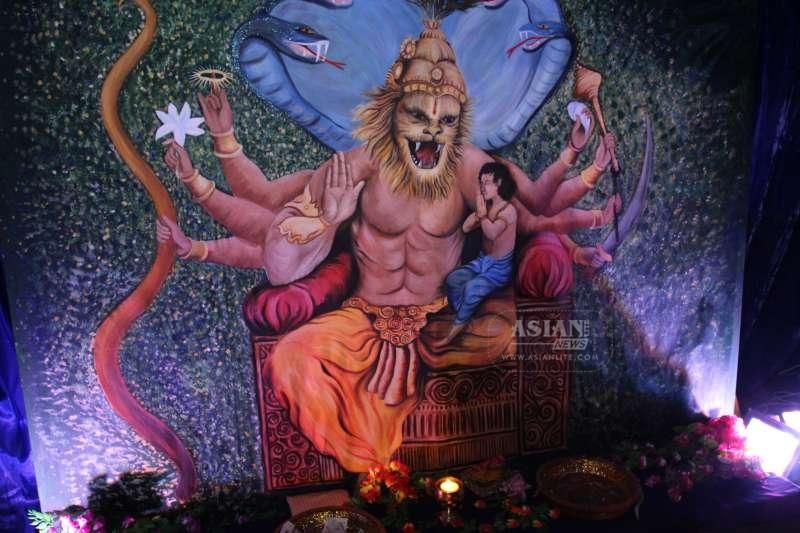 Shree Swaminarayan Mandir - Dharma Bhakti Manor - Holi 2015 (624)