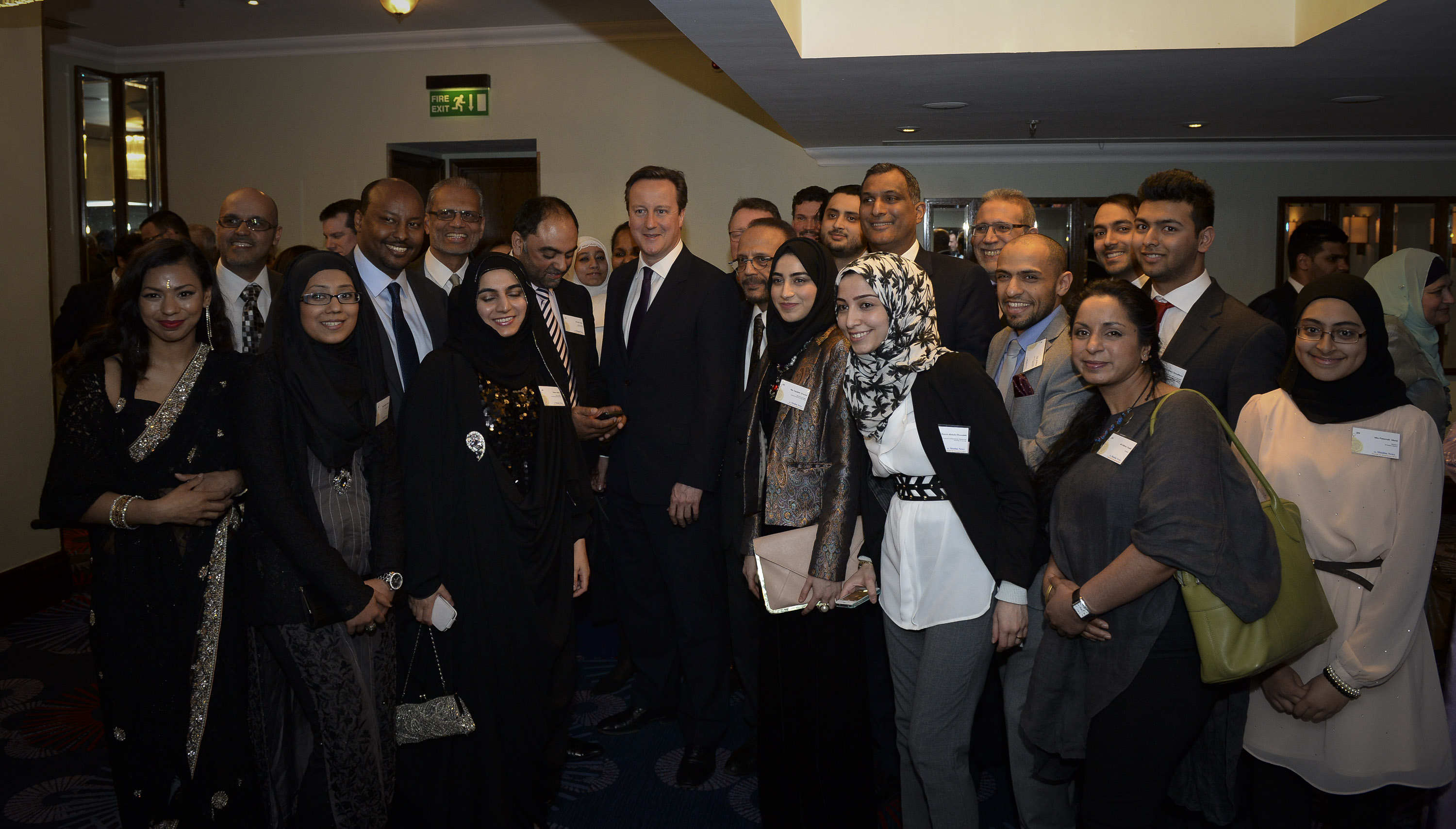 The Prime Minister David Cameron attends the Muslim News Awards Ceremony held at the Grovesnor Hotel Park Lane- File Pic