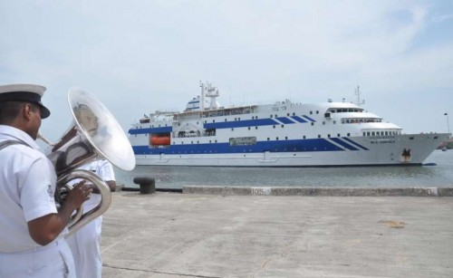 About 475 evacuees from the war-torn Yemen reached safely in passenger ships Kavaratti and Corals at the BTP berth of the Cochin Port in Kochi on April 18, 2015. The returnees included 337 Bangladeshi nationals and 65 Yemenis of Indian origin.