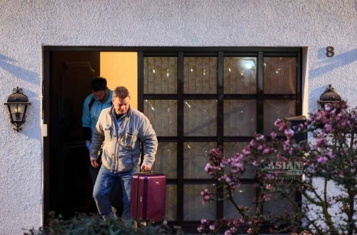 Investigators search Andreas Lubitz's home, the co-pilot of the fatal Germanwings A320 flight who appeared to have deliberately crashed the plane, in Montabaur, western Germany. German police are keeping the Germanwings' co-pilot's home in the town of Montabaur, about 100 km northwest of Frankfurt, under surveillance.