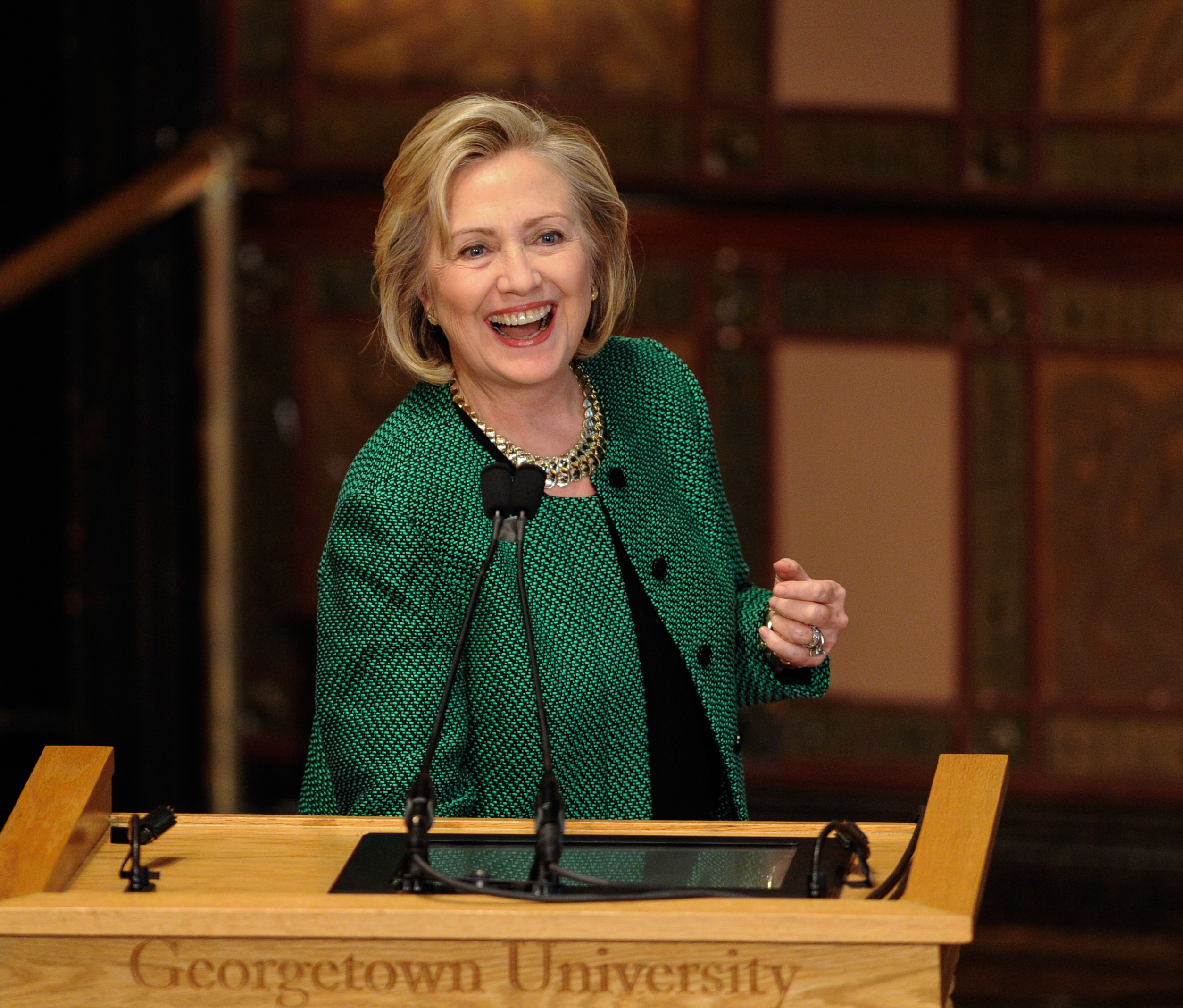 U.S.-NEW YORK-HILLARY CLINTON-PRESIDENTIAL ELECTION-ANNOUNCEMENT